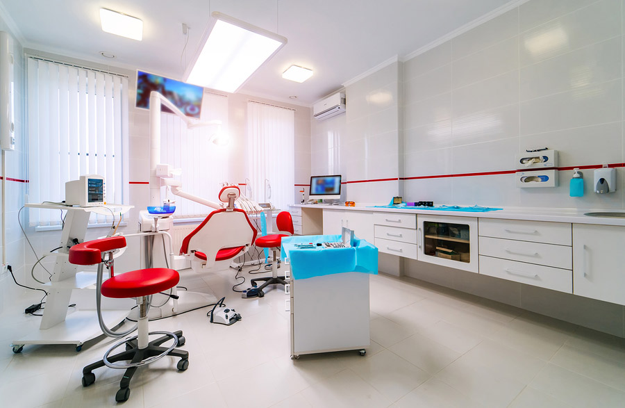 Dental Clinic Office Construction Photo